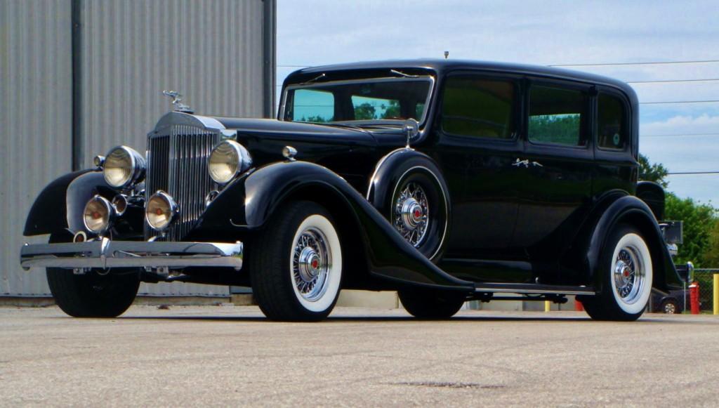 1934 Packard Super 8 Resto-Mod - Amelia Island Select ...