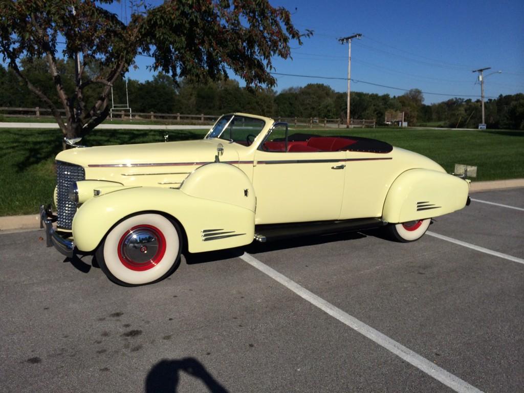 1938 Cadillac V16 Convertible Amelia Island Select March