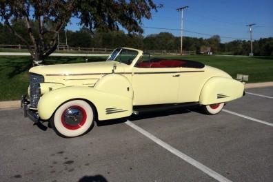 1938 Cadillac V16 Convertible