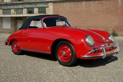 1958 Porsche 356 A 1600 S Factory Rudge Wheel
