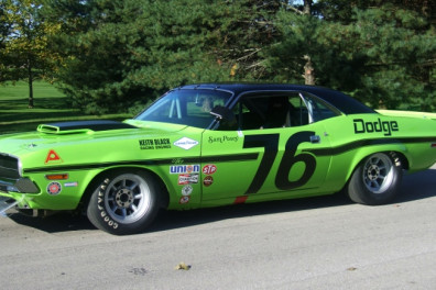 1970 Dodge Challenger T/A driven by Sam Posey
