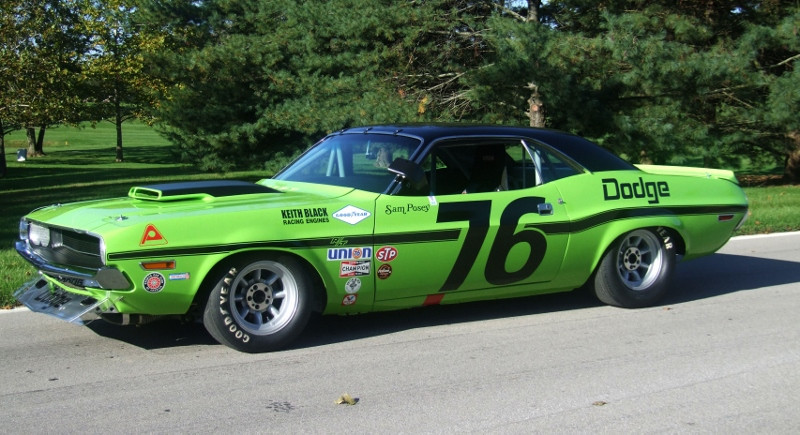 2015 Dodge Barracuda >> 1970 Dodge Challenger T/A driven by Sam Posey - Amelia ...