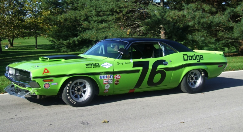 1970 dodge challenger t a driven by sam posey 1970 dodge challenger ...