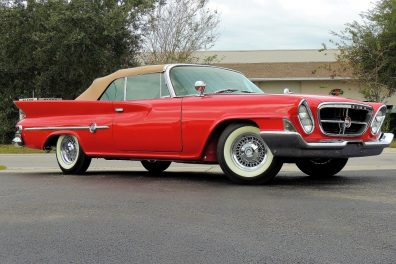 SOLD!  1961 Chrysler 300G Convertible  SOLD!