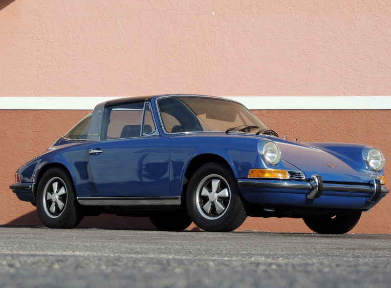 1969 Porsche 911 E Targa Hollywood Wheels Auction Shows