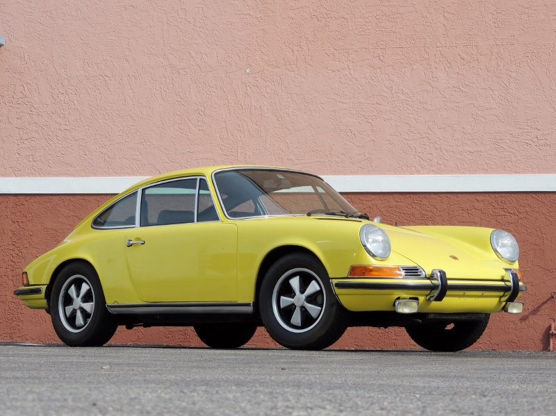 1971 Porsche 911s Hollywood Wheels Auction Shows