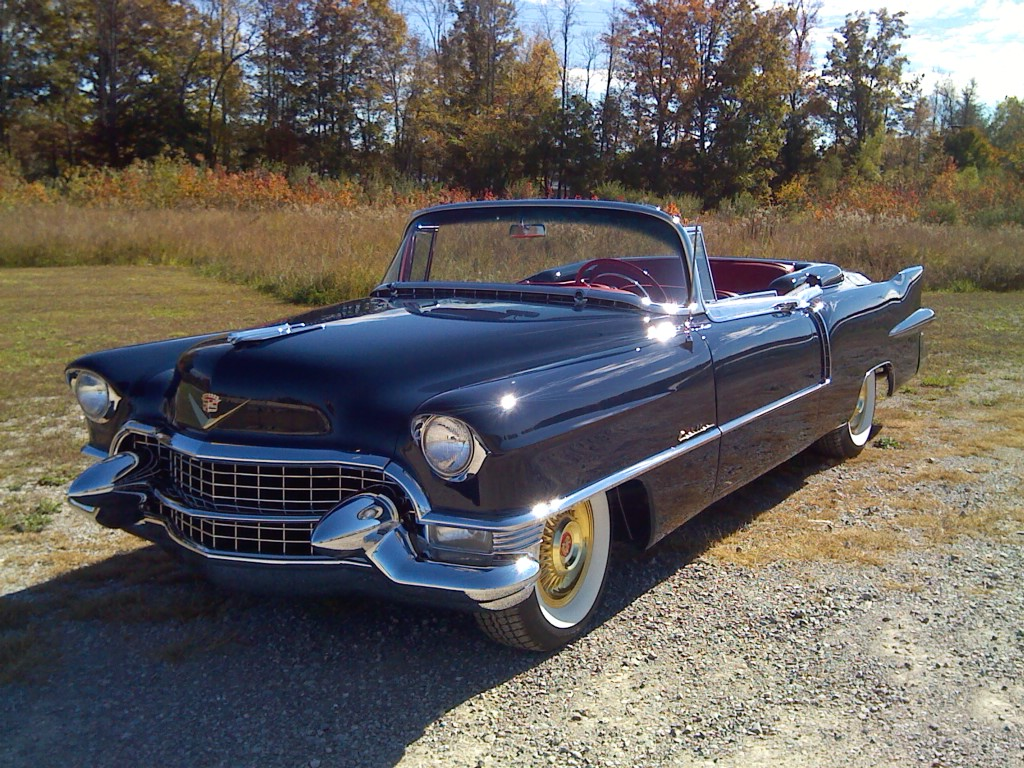 1955 Cadillac Eldorado Convertible - Hollywood Wheels Auction Shows