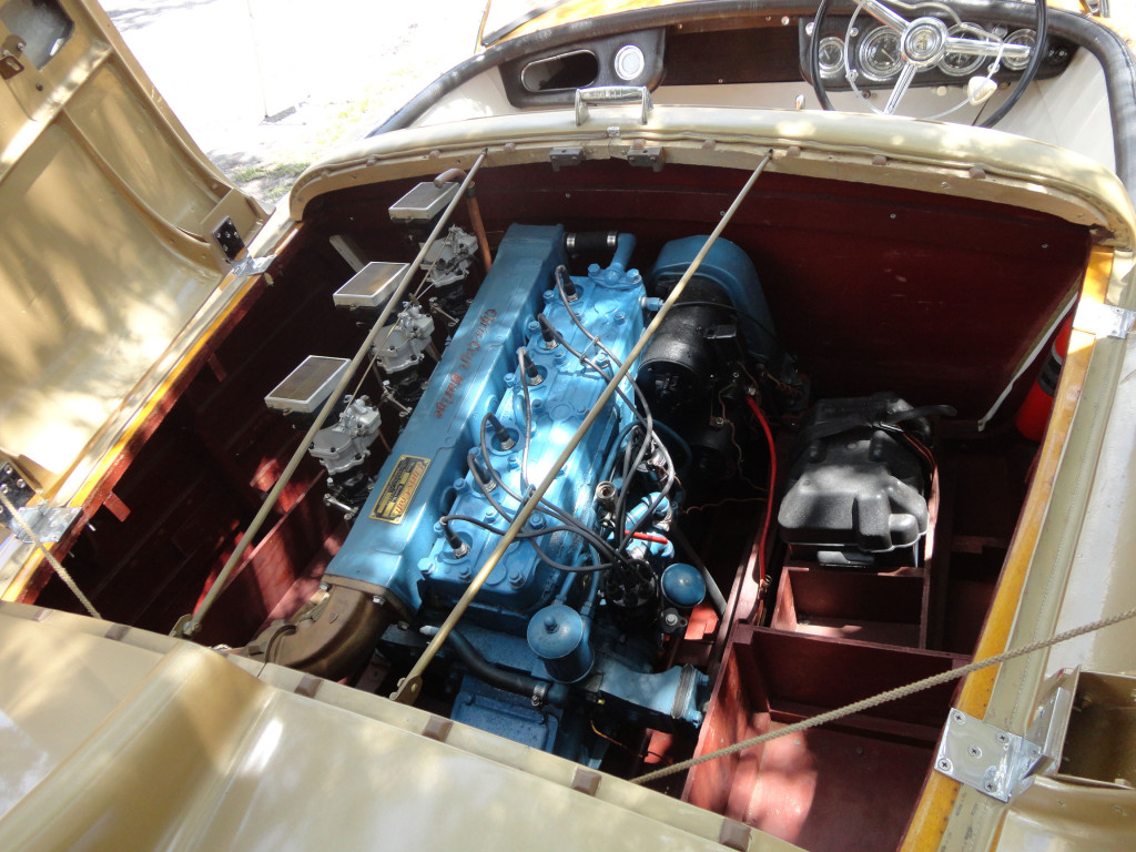 1955 Chris Craft Cobra Serial 001 Hollywood Wheels Auction Shows Model A Engine Diagram Previous Next