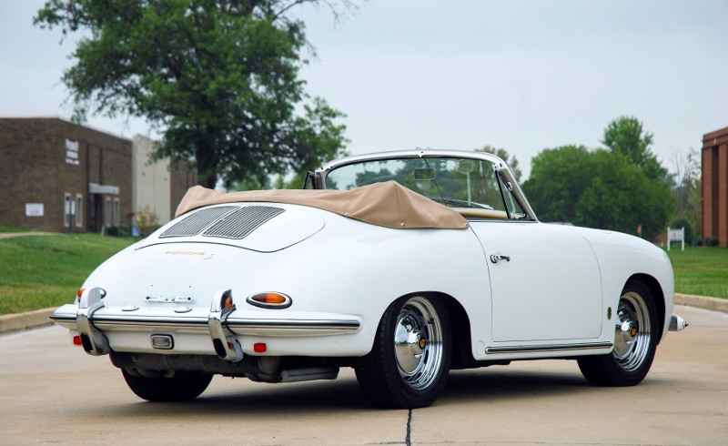 1963 Porsche 356 B Cabriolet Hollywood Wheels Auction Shows
