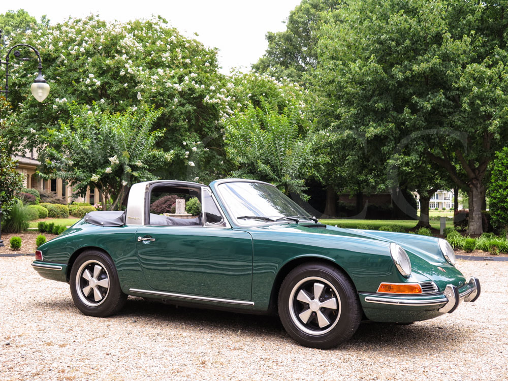 1967 Porsche 911 Targa Hollywood Wheels Auction Shows