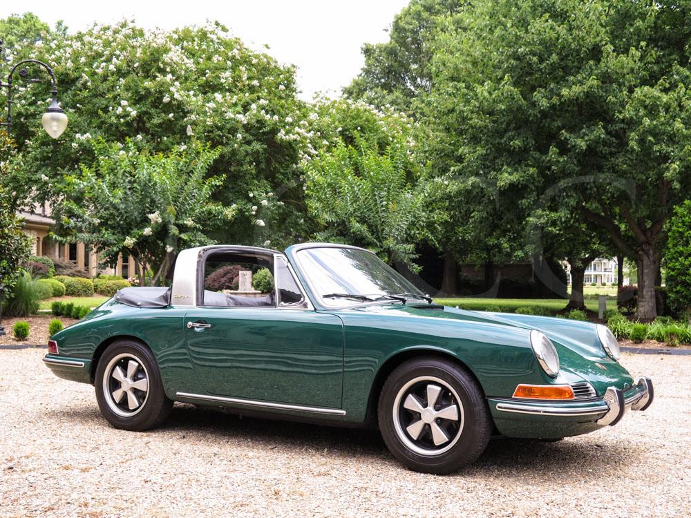 1967 porsche 911 targa   hollywood wheels auctions amp shows