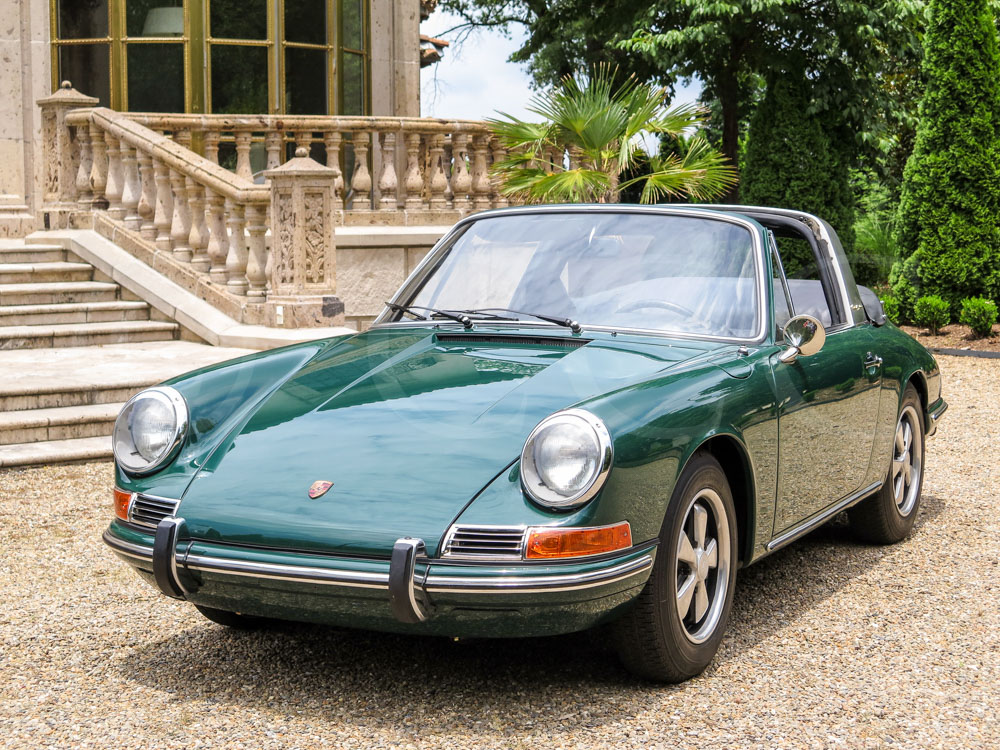 1967 porsche 911 targa hollywood wheels auction shows. Black Bedroom Furniture Sets. Home Design Ideas