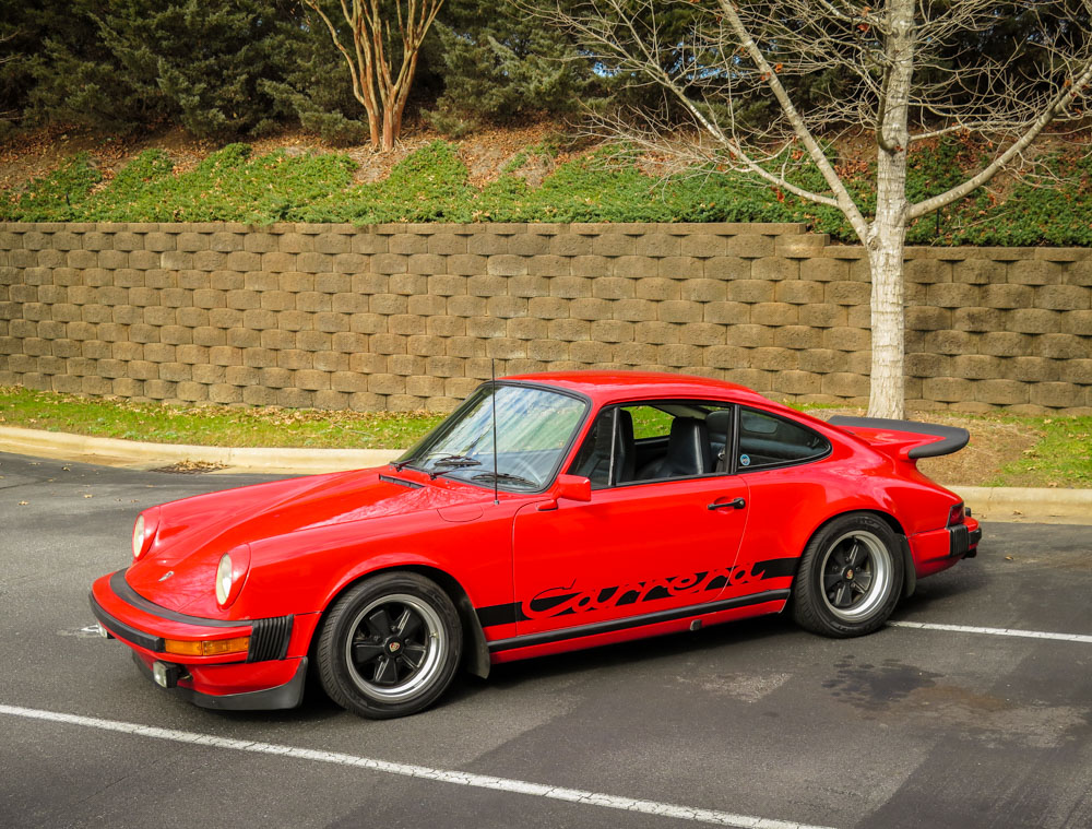1975 Porsche Carrera Hollywood Wheels Auction Shows