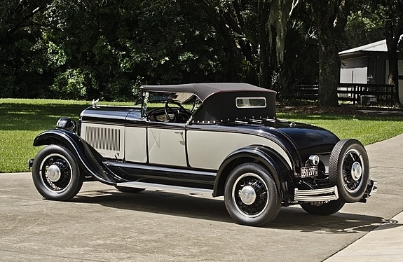 Auto Auction Pa >> 1928 Chrysler Model 72 Roadster with Rumble Seat ...