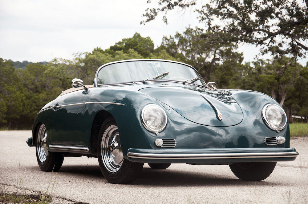 1958 Porsche 356 Speedster Hollywood Wheels Auction Shows