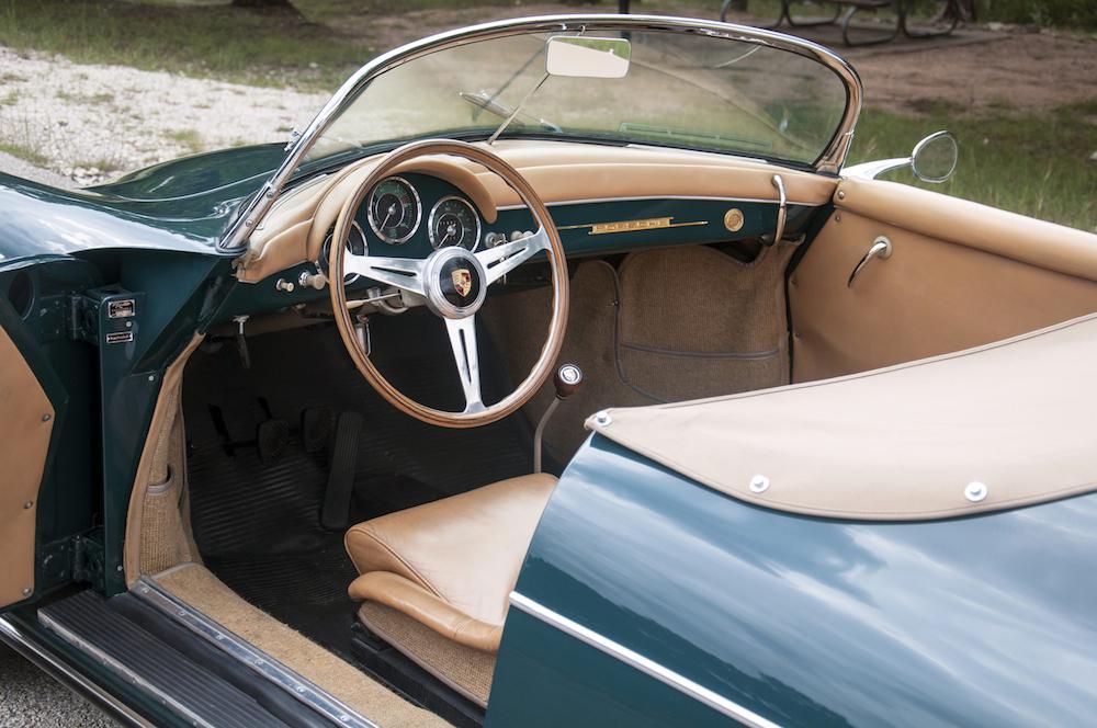 1958 Porsche 356 Speedster Hollywood Wheels Auction Shows