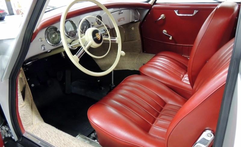 1958 porsche 356a coupe hollywood wheels auction shows. Black Bedroom Furniture Sets. Home Design Ideas