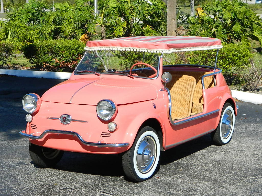 fiat jolly 500 1959 convertible cars much hollywood wheels amelia select beach hollywoodwheels results depuis enregistree katieconsiders