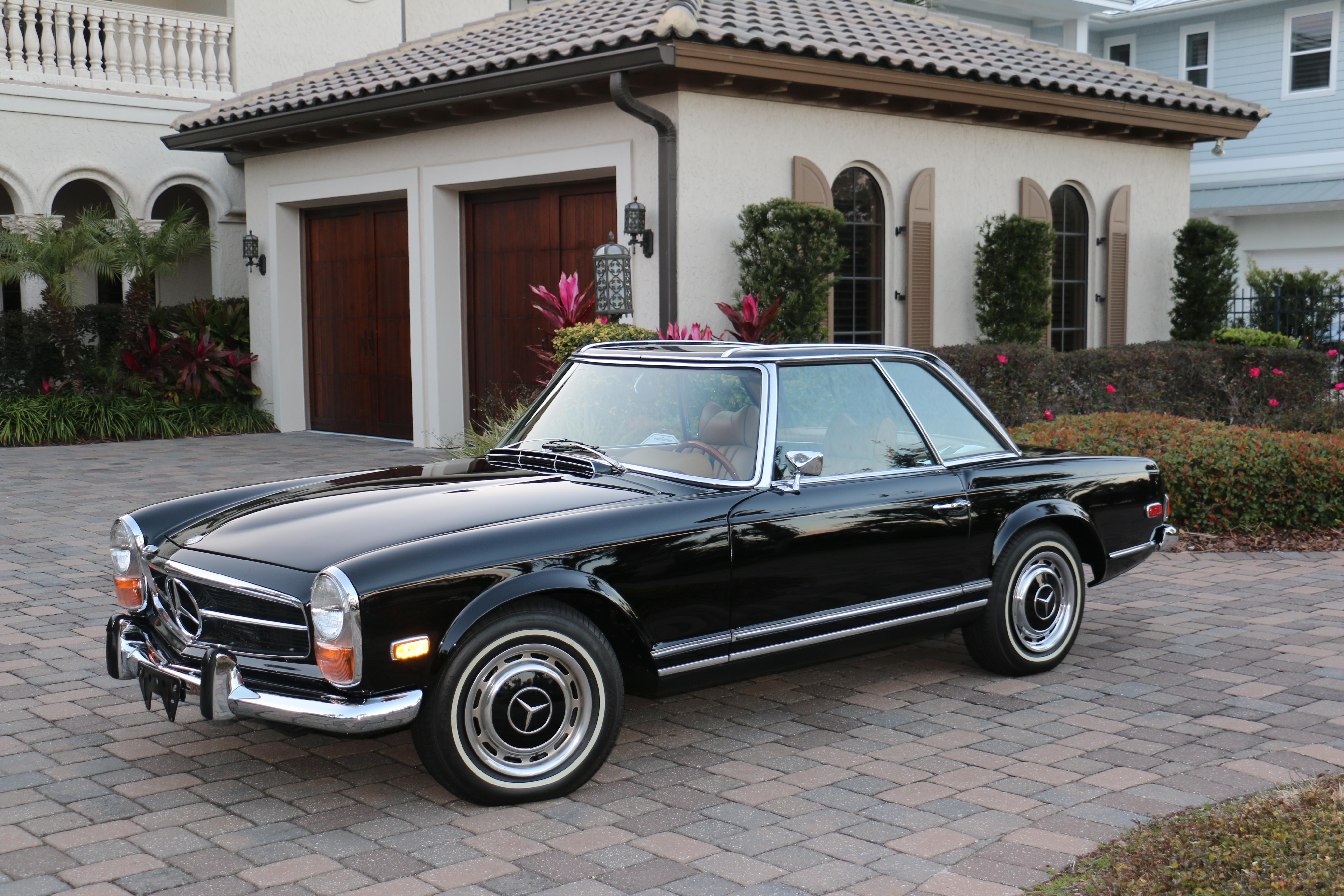 1970 Mercedes Benz 280 Sl Twin 1 Hollywood Wheels