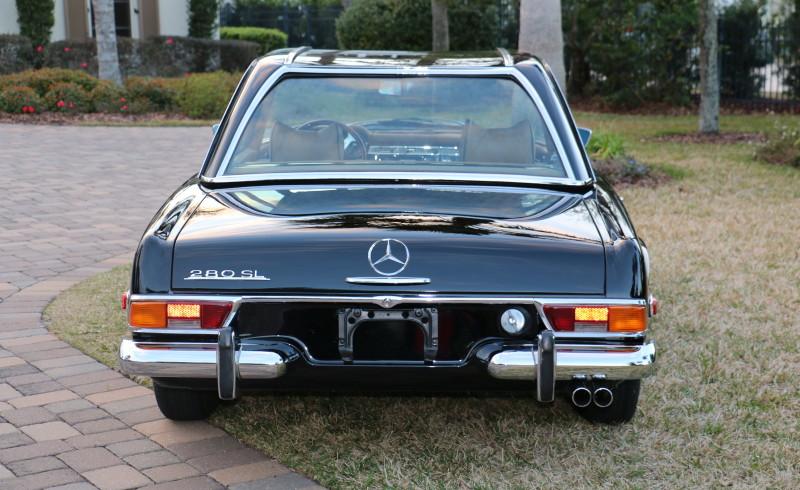 Mercedes Jacksonville Fl >> 1970 Mercedes Benz 280 SL - Twin 1 - Hollywood Wheels Auction Shows
