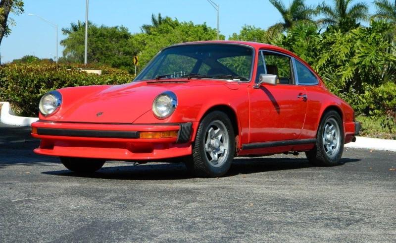 1974 Porsche 911 S Hollywood Wheels Auction Shows