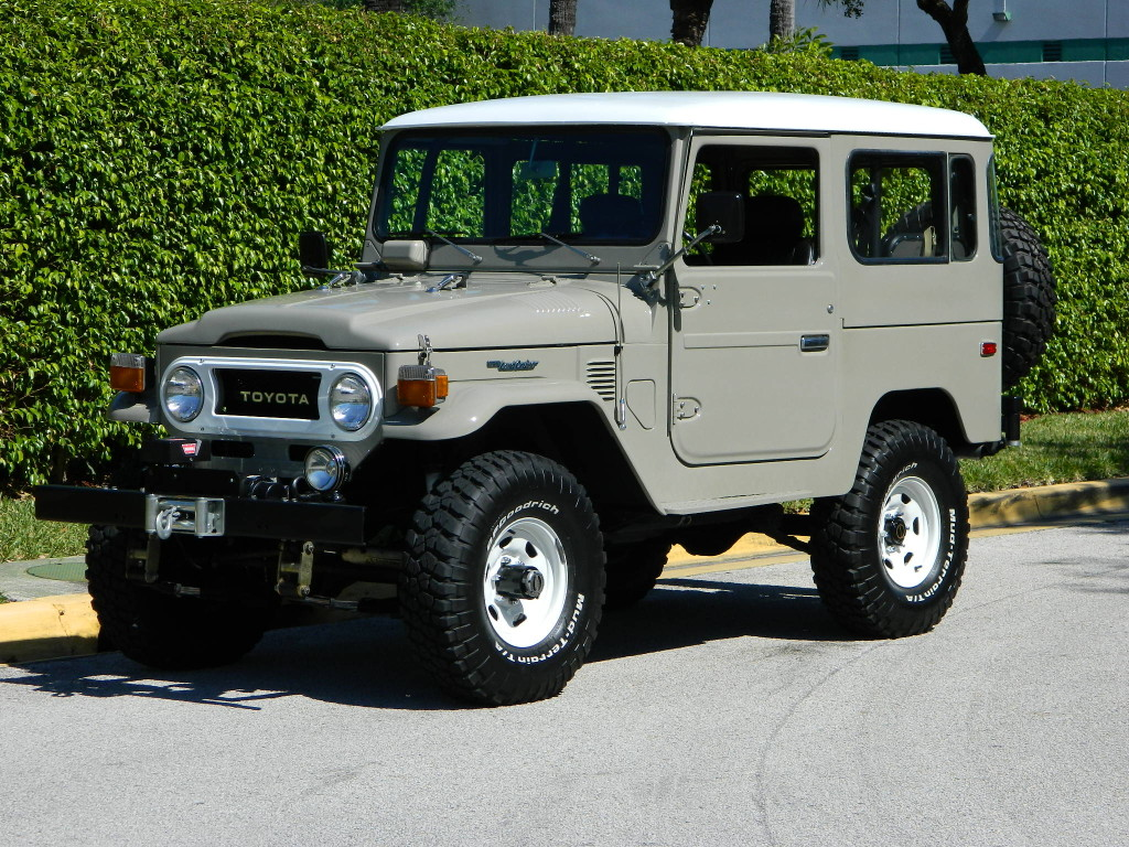 1977 Toyota Fj40 Hollywood Wheels Auction Shows