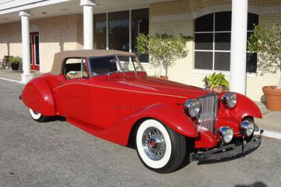 1934 Packard Bayliff Restomod Roadster