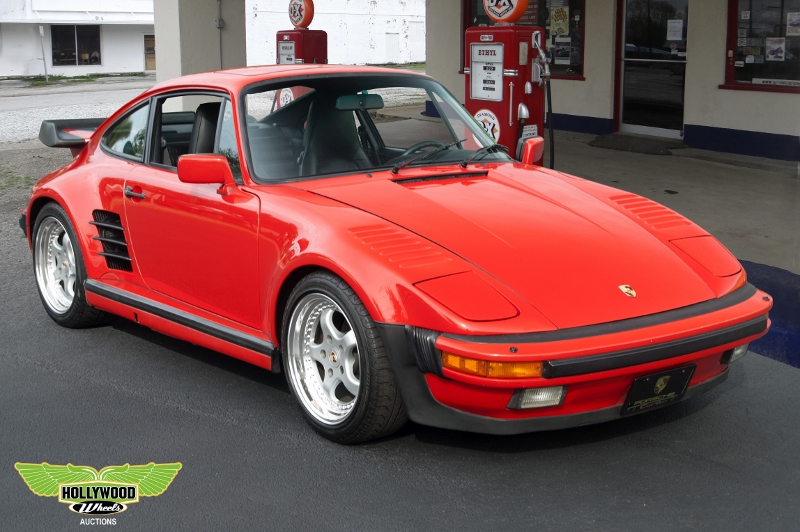 1989 Porsche 930 Turbo Slantnose Hollywood Wheels