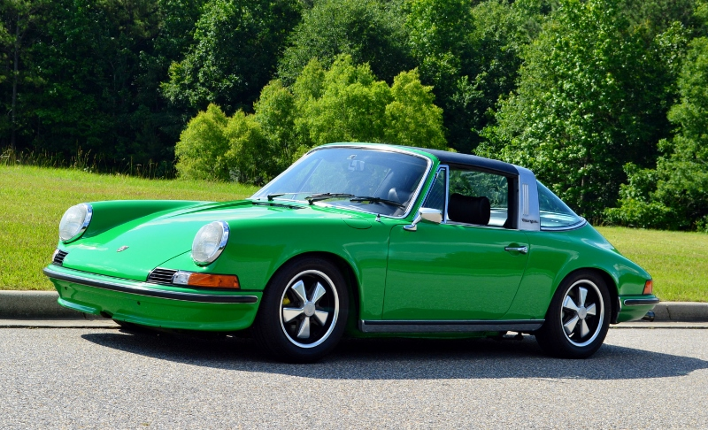 1973 Porsche 911E Targa The McLane Collection