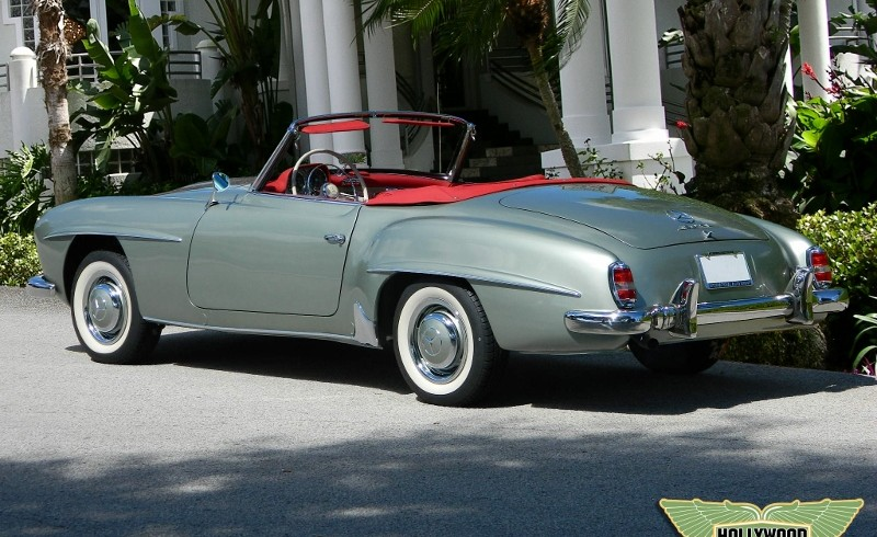 1960 Mercedes Benz 190 Sl Hollywood Wheels Auction Shows