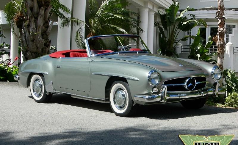Mercedes Benz Orlando >> 1960 Mercedes Benz 190 SL - Hollywood Wheels Auction Shows