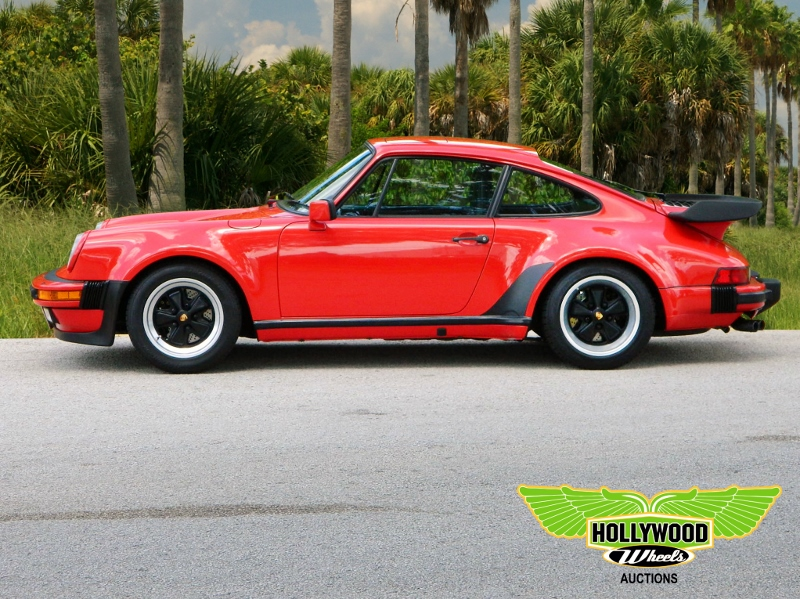 1986 Porsche 930 Hollywood Wheels Auction Shows
