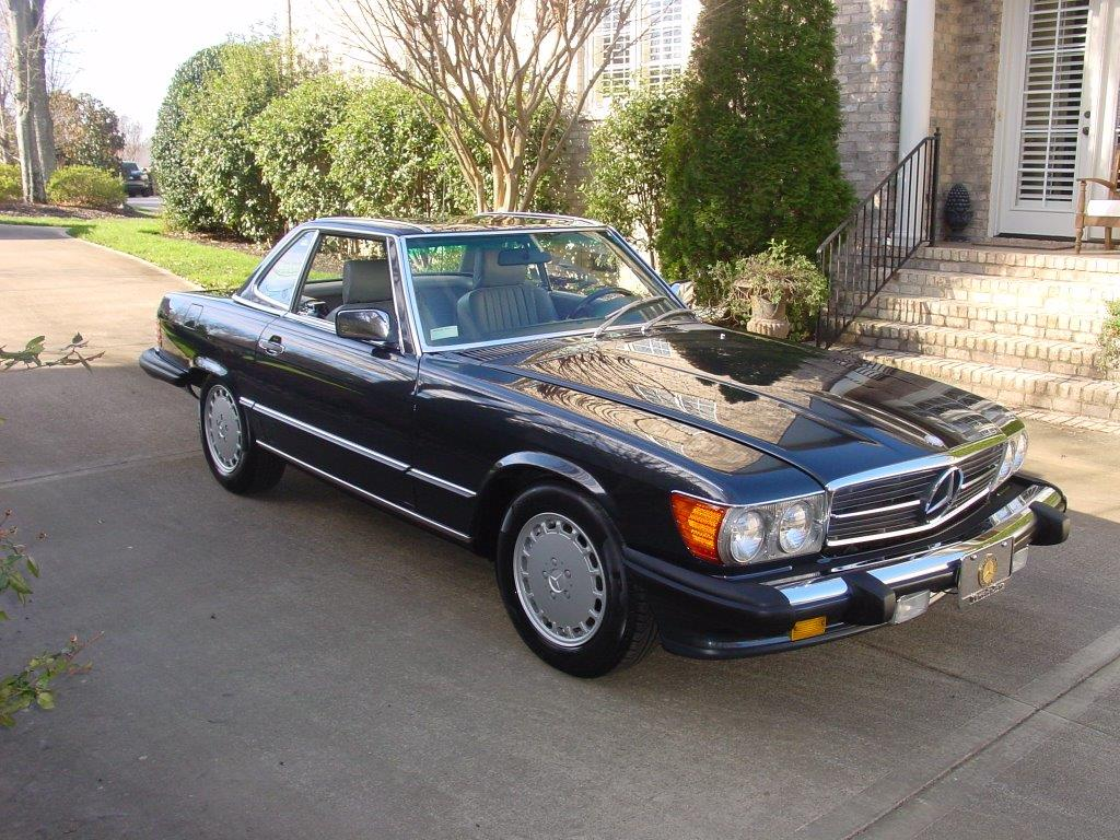 Car Auctions In Atlanta >> 1989 Mercedes 560 SL - Hollywood Wheels Auction Shows