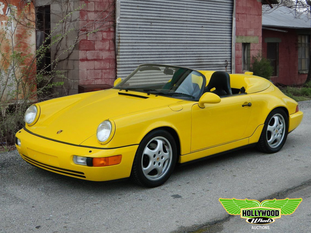 1994 Porsche Speedster Roadster Hollywood Wheels Auction