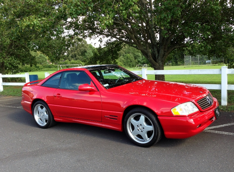 1999 Mercedes Sl500 Hollywood Wheels Auction Shows