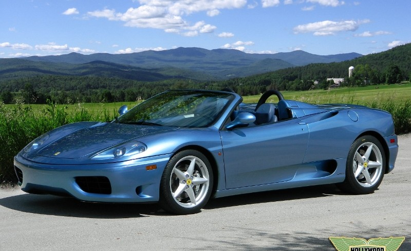 2001 Ferrari 360 Spider Convertible Hollywood Wheels