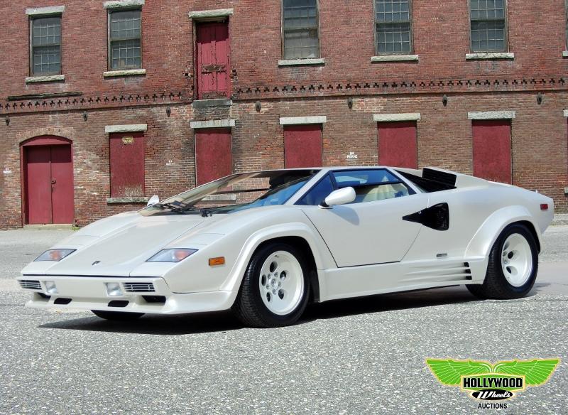 1987 Lamborghini Countach Hollywood Wheels Auction Shows