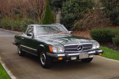 1977 Mercedes 450 SL