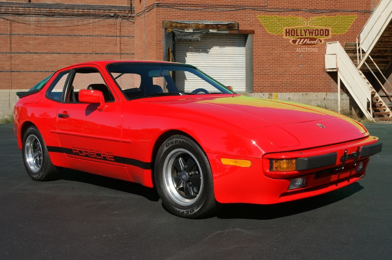 1984 Porsche 944 Hollywood Wheels Auction Shows