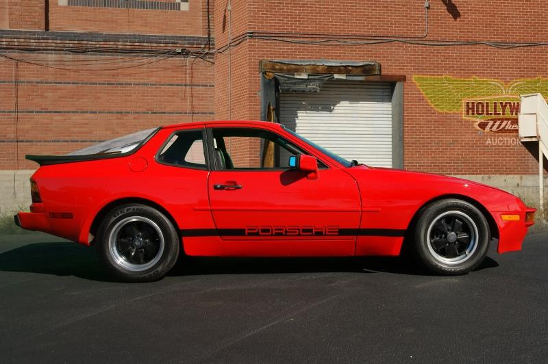 1984 Porsche 944 Hollywood Wheels Auction Shows