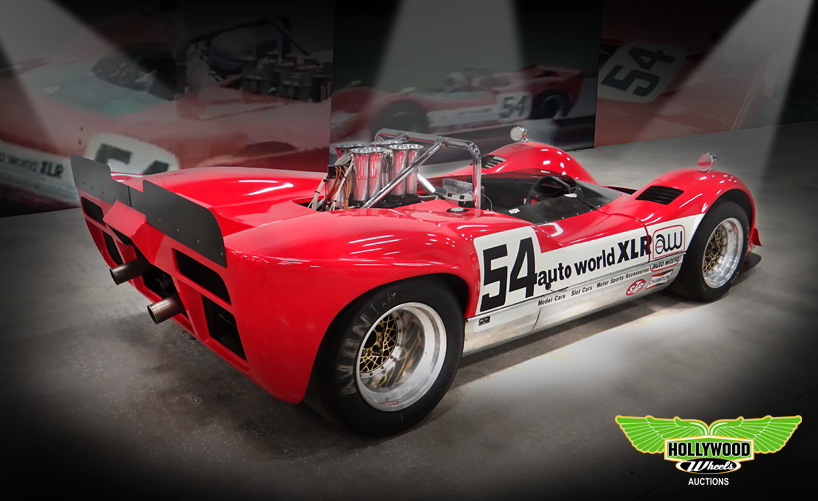 1969 Mclaren M6b Can Am Race Car Hollywood Wheels