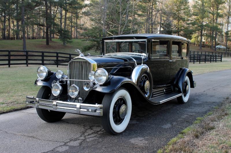 Car Auctions In Atlanta >> 1930 Pierce Arrow 4S Limousine - Hollywood Wheels Auction