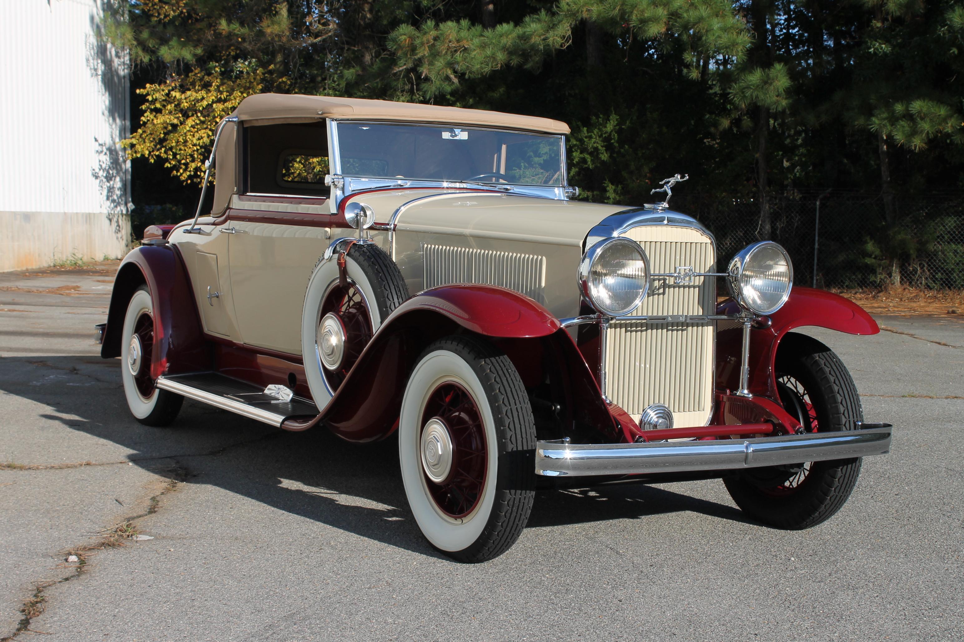 1931 Mclaughlin Buick 90 Series Convertible Hollywood