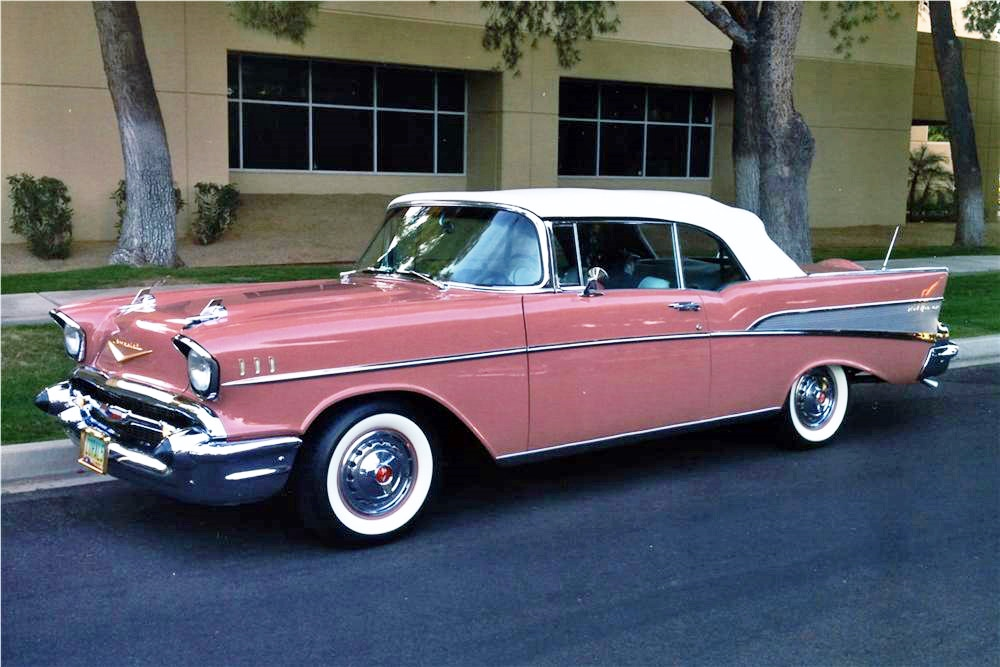 Belair Auto Auction >> 1957 Chevy Bel Air Custom Cabriolet Restomod - Hollywood ...