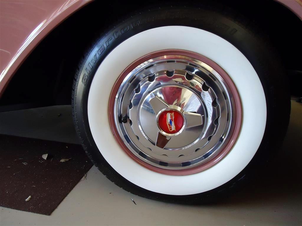 1957 Chevy Bel Air Custom Cabriolet Restomod Hollywood Wheels 24 Previous Next
