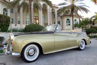 1963 Rolls Royce Silver Cloud III Convertible
