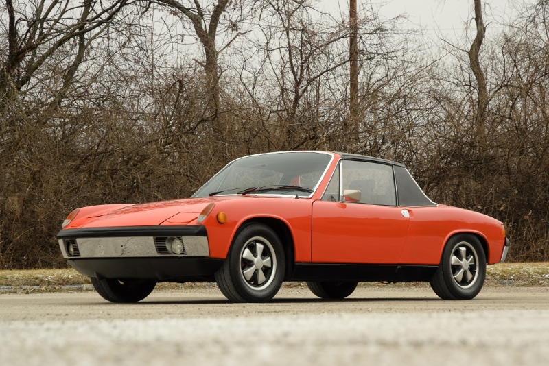 1970 Porsche 914 6 Hollywood Wheels Auction Shows