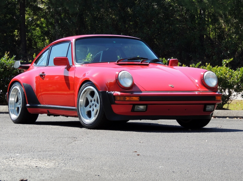 1987 Porsche 930 Turbo Hollywood Wheels Auction Shows