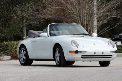 1995 Porsche 993 Carrera Convertible