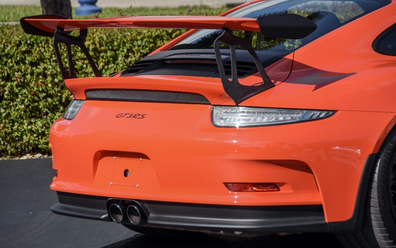 2016 Porsche 911 Gt3 Rs 4 Hollywood Wheels Auction Shows
